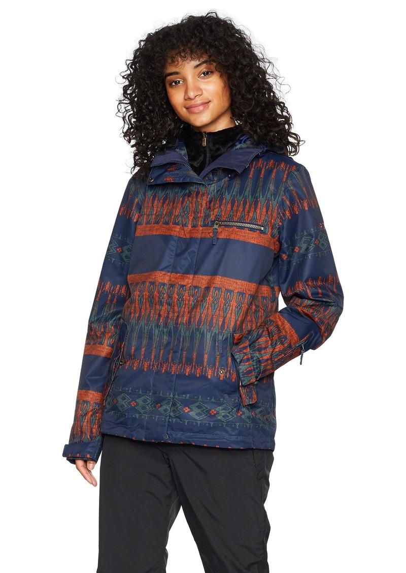 Roxy Snow Junior's Jetty 3 in 1 Snow Jacket Peacoat_PALEAO M