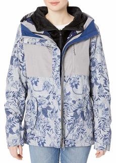 Roxy SNOW Women's Roxy Jetty 3N1 Jacket heather grey botanical flowers M
