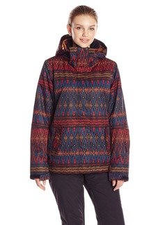 Roxy SNOW Junior's Jetty Printed Snow Jacket  X-Small