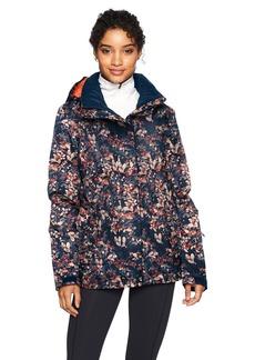 Roxy Snow Junior's Jetty Snow Jacket Peacoat_Waterleaf XS