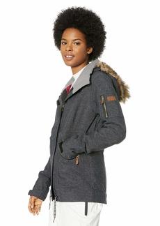Roxy SNOW Junior's Meade Snow Jacket true black L