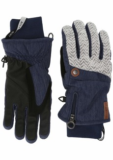 Roxy SNOW Junior's Nymeria Gloves mid denim M
