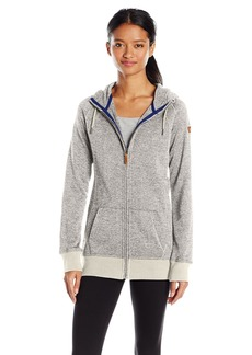 Roxy Snow Junior's Resin Knit Fleece Jacket  M