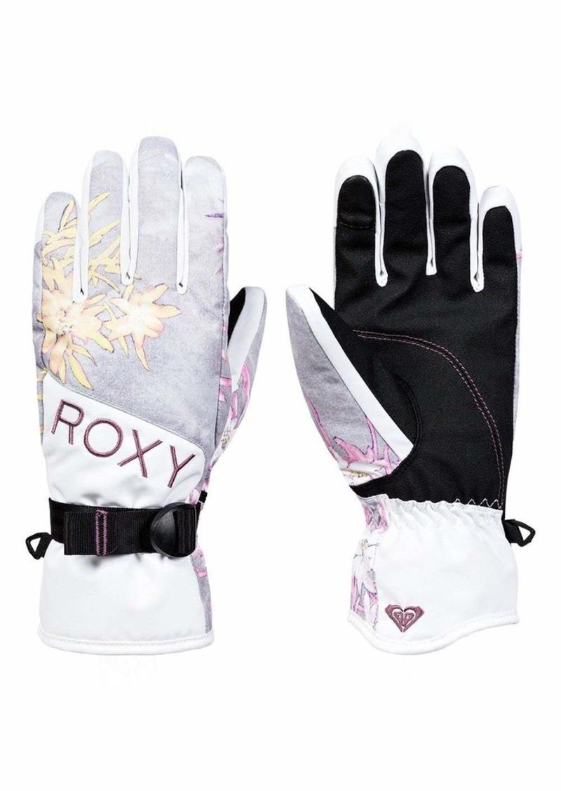 Roxy SNOW Junior's Roxy Jetty Gloves micro chip edelweiss L