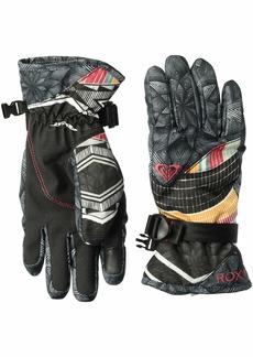 Roxy SNOW Junior's Roxy Jetty SE Gloves true BLACK_POP snow stars M