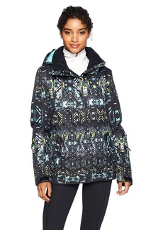 Roxy SNOW Junior's Roxy Jetty Snow Jacket True Black_Haveli Ikat L