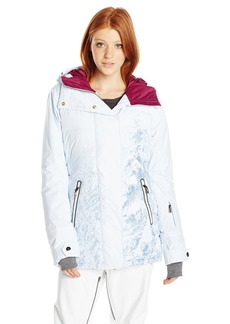 Roxy SNOW Junior's Torah Bright Crystalized Snow Jacket  X-Small