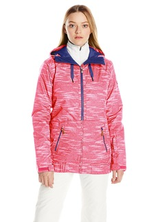 Roxy SNOW Junior's Valley Hoodie Tailored Fit Snow Jacket  XS