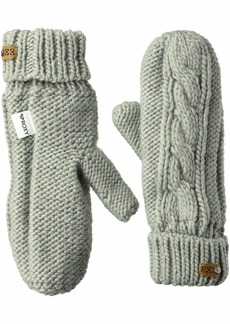 Roxy SNOW Junior's Winter Snow Mittens warm heather grey