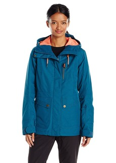 Roxy SNOW Women's Andie Tailored ong Jacket egion Blue