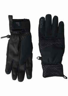 Roxy SNOW Women's Big Bear Gloves true black M