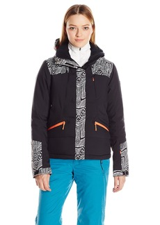 Roxy Snow Junior's Flicker Slim Fit Snow Jacket  S
