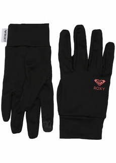 Roxy SNOW Women's Hydrosmart Liner Gloves true black M