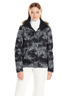 Roxy SNOW Junior's Jet Ski Printed Slim Fit Snow Jacket  L
