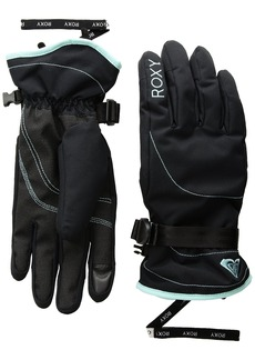 Roxy SNOW Women's Junior Roxy Jetty Solid Gloves Accessory -true black XL