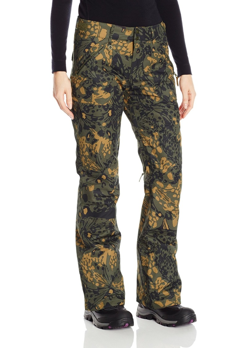 Roxy SNOW Women's Nadia Printed Tailored Fit Pant  L