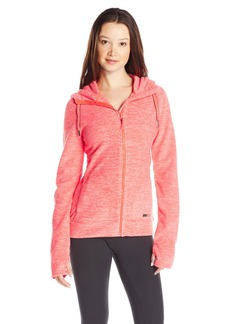 Roxy SNOW Women's Suuvra Polar Fleece Zip up Hoodie  S