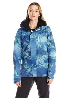 Roxy SNOW Women's Wilder Printed 2l Gore-Tex Tailored Fit Jacket  S