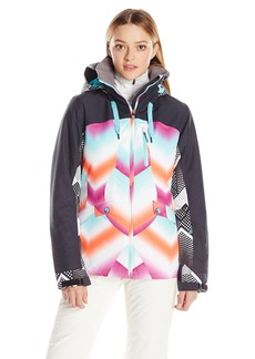 Roxy SNOW Women's Wildlife Printed Tailored Fit Jacket