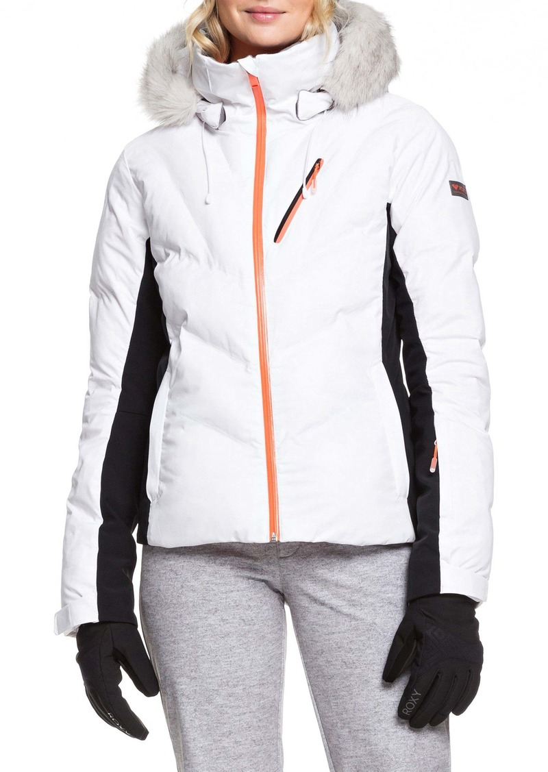 Roxy Snowstorm Waterproof DryFlight® WarmFlight® Insulated Snowsports Jacket