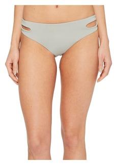 Roxy Softly Love Solid Reversible 70s Bikini Bottom