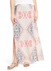 Roxy Sri Vibe Print Maxi Skirt