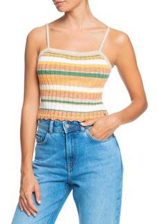 Roxy Stripe Sweater Tank