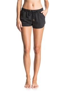 Roxy Summer Feel Over Chambray Shorts