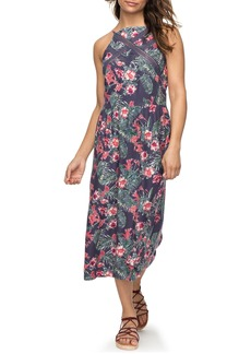 Roxy Summer Print Midi Dress