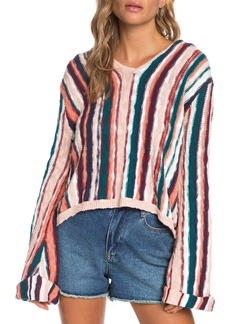Roxy Sun Express Stripe Cotton Sweater