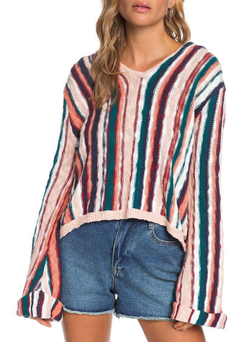 Roxy Sun Express Stripe Cotton Sweater