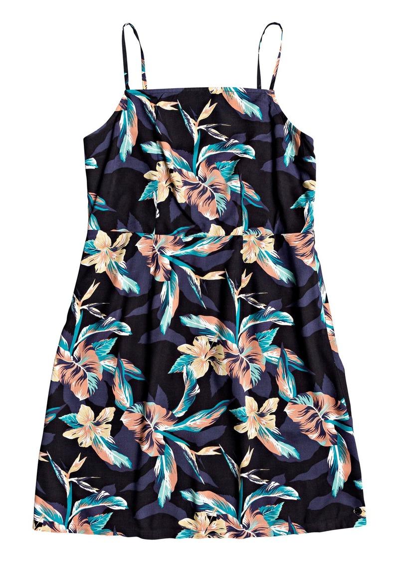 Roxy Sunny Weather Floral Minidress