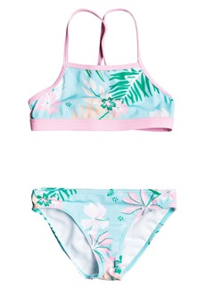 Roxy Sunshine Two-Piece Swimsuit (Little Girls & Toddler Girls)