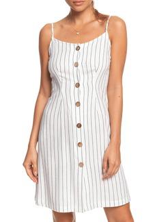 Roxy Sweet About Me Stripe Minidress