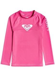 Roxy Toddler & Little Girls Whole Hearted Long Sleeve Rash Guard