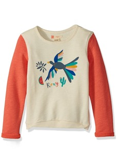 Roxy Toddler Girls' Fashion Crew Sweatshirt