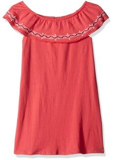 Roxy Girls' Toddler Hippie Heart Dress Rouge red