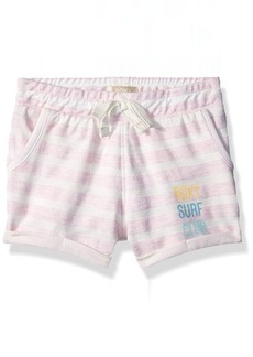 Roxy Toddler Girls' Laugh and Love Fleece Short