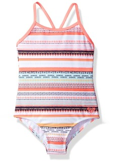 Roxy Girls' Toddler Little Indi One Piece Swimsuit