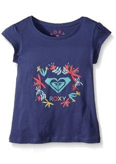 Roxy Girls' Toddler Moid T-Shirt deep Cobalt