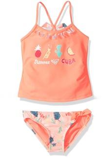Roxy Toddler Girls' Sandy Break Tankini Swimsuit Set