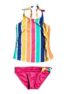 Roxy Toddler Girls Tankini Swim Set