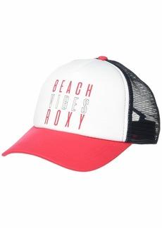 Roxy Truckin Trucker Hat    One size