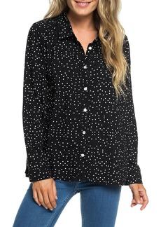 Roxy Urban Earth Polka Dot Shirt