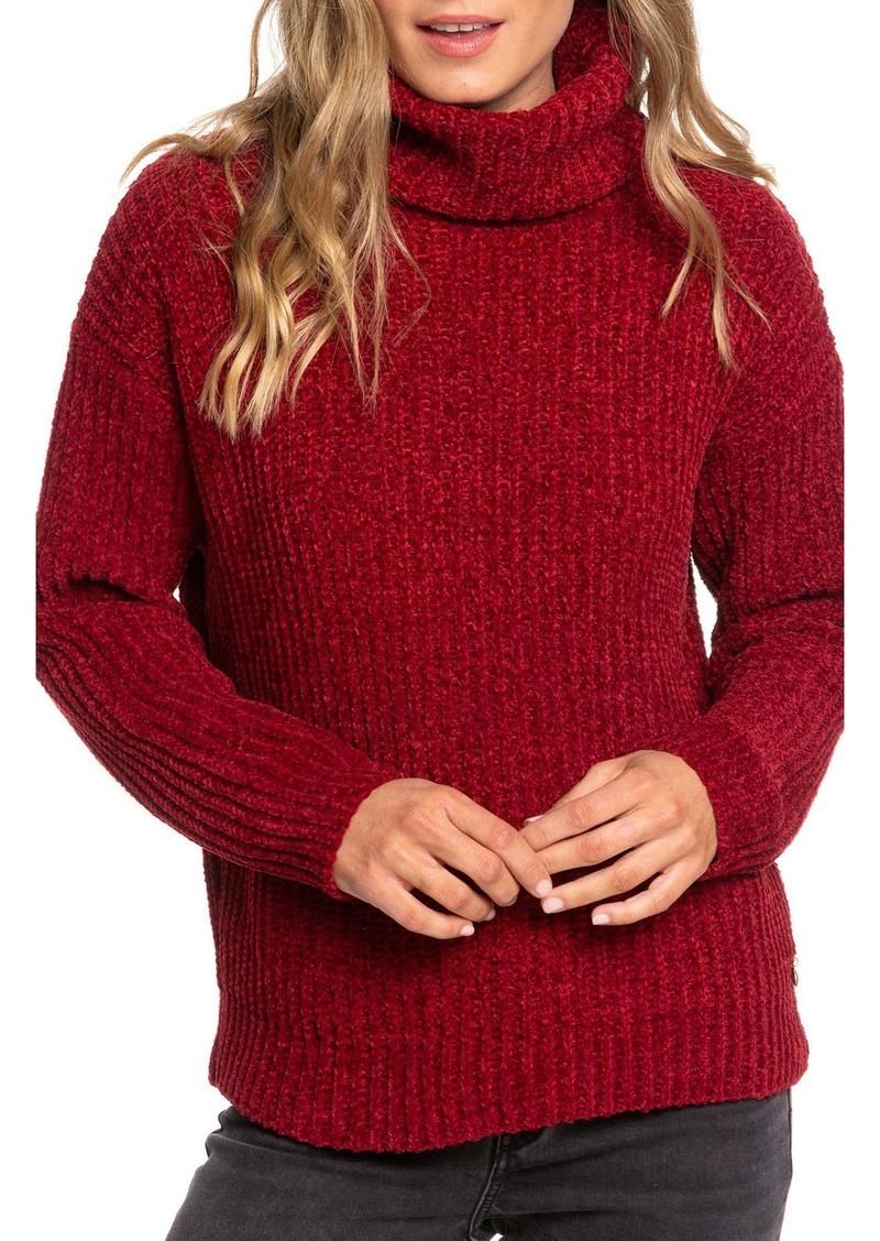 Roxy Velvet Morning Turtleneck Sweater