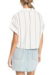 Roxy Winter Catcher Short Sleeve Button-Up Shirt