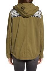 Roxy 'Wintercloud' Print Denim Jacket
