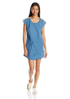 Roxy Junior's After Surfing Denim Dress  Blue M
