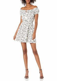 Roxy Women's After The Beach Off-The-Shoulder Dress Snow White PATCHFIELD Micro 211 S