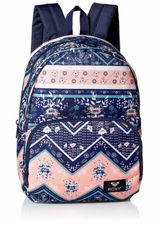 Roxy Women's Always Core Backpack medium blue newport border southwest